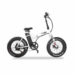 Daymak New Yorker 350 Watt Fat Tire Folding Electric Bicycle